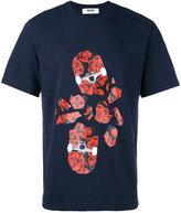 MSGM broken skateboard print T-shirt - men - Cotton - S