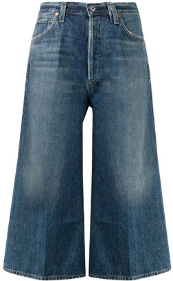 Citizens of Humanity Emily denim culottes