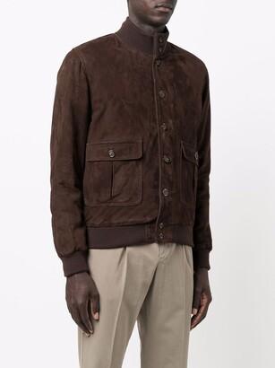 Valstar Buttoned Leather Jacket