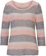 Betty Barclay Candy striped crochet jumper