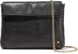 Halston Tina Pebbled-leather Clutch