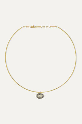 Jemma Wynne 18-karat Gold Diamond Choker