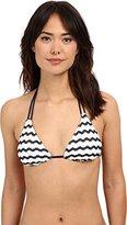 Sperry Women's Seas The Day Triangle Bikini Top