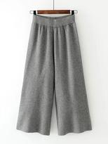 Shein Wide Leg Knit Pants