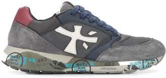 Premiata logo patch low top sneakers