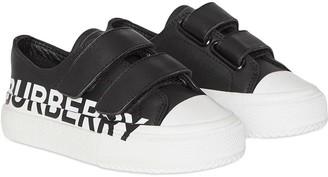 BURBERRY KIDS Logo Print Sneakers