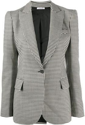 P.A.R.O.S.H. Checked Fitted Blazer