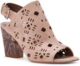 Donald J Pliner Women's GYSELESP - Embellished Antique Washed Suede Slingback Heeled Sandal
