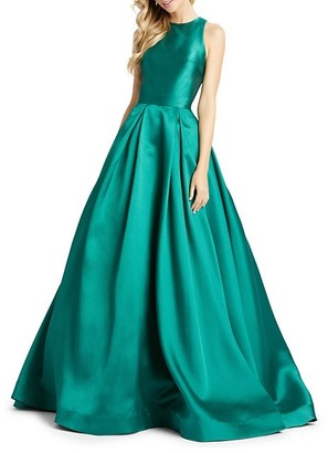 Mac Duggal Satin Ball Gown