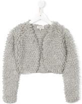 Cashmirino Loop knit cropped cardigan