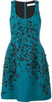 Prabal Gurung embroidered dress - women - Silk/Spandex/Elastane - 8