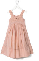 Stella McCartney embroidered dress - kids - Cotton/Polyester - 4 yrs