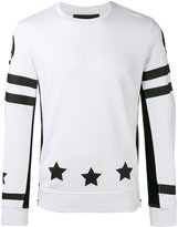 Hydrogen star print sweatshirt - men - Cotton - L