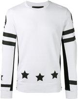 Hydrogen star print sweatshirt - men - Cotton - S