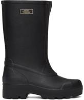 Suicoke Black Tamb-B Rubber Boots