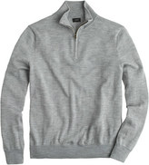 J.Crew Tall merino wool half-zip sweater