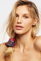 Free People Metallic Brocade Scrunchie