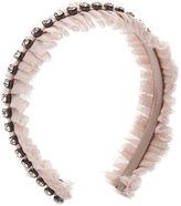 Brandy Pham Juliet Headband, Nude / Gunmetal 1 ea