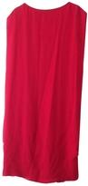 Maison Margiela Red Silk Dress