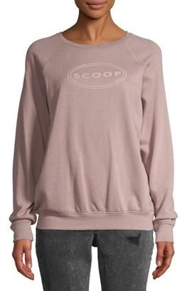 Scoop Women's Logo Printed Sweatshirt