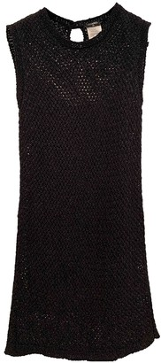 Chanel Black Cotton - elasthane Dresses