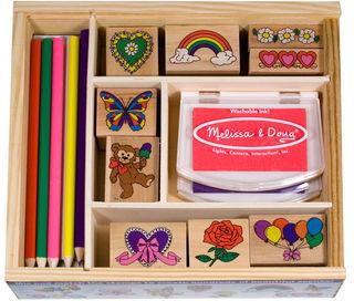 Carter's Melissa & Doug Friendship Stamp Set