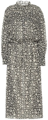 Etoile Isabel Marant Perkins cotton voile midi dress