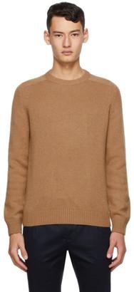 Saint Laurent Brown Camel Hair Sweater