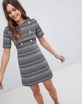 Girls On Film Printed Shift Dress
