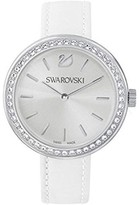 Swarovski 5095603 Round Daytime Ladies Watch, White