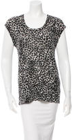 By Malene Birger Patterned Sleeveless Top