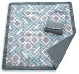 JJ Cole All-Purpose Outdoor Blanket in Grey Links