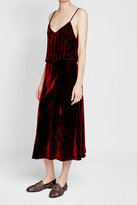 Mes Demoiselles Velvet Dress with Silk