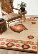 nuLoom Traditional Vintage Handmade Wool Abstract Area Rugs