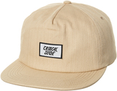 The Critical Slide Society Humble Snapback Cap White