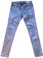 Rag & Bone Pink Cotton - elasthane Jeans for Women