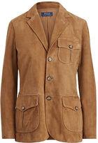 Polo Ralph Lauren Suede 3-Button Blazer