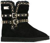 Philipp Plein 'Cherry Cola' boots
