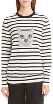 Loewe Women's Cat Stripe Wool Blend Sweater