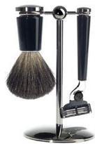 Mühle Black 3 Part Shave Kit with Gunmetal Handle (S81M226M3)