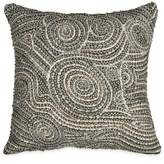 "Donna Karan Fuse Beaded Decorative Pillow, 12"" x 12"""