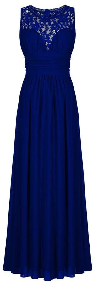CaliaDress Women Elegant Lace Long Bridesmaid Formal Dresses Prom Gown C285LF US