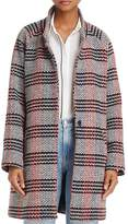 Molly Bracken Plaid Cocoon Coat