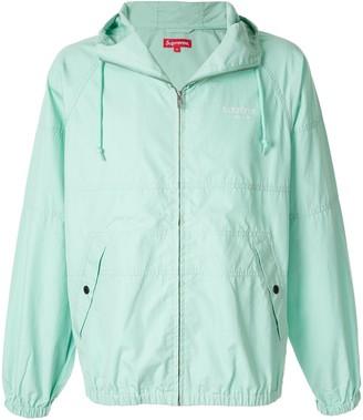 Supreme hooded raglan jacket