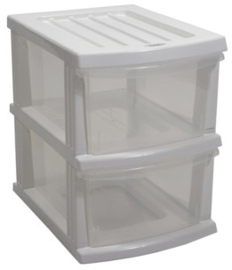 Taurus A3 S Series 2 Clear Drawer Storage Organizer Kd