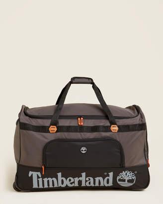 "Timberland 30"" Grey Highgate Wheeled Duffel"