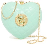 Love Moschino Quilted Heart Convertible Clutch