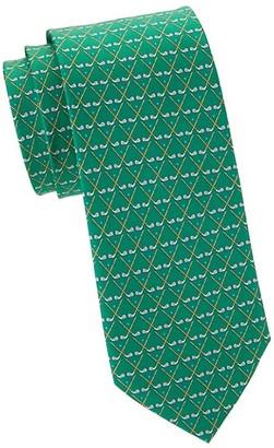 Salvatore Ferragamo Putters Silk Tie
