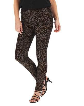 Capsule Bella Leopard Glitter Slim Leg Jeggings