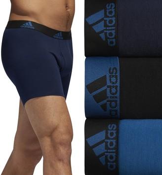 adidas Men's 3-pack Cotton Stretch Boxer Briefs